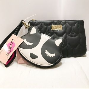 Betsey Johnson Fox Coin purse and Wristlet
